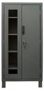 Durham 3702CXC-BLP4S-95 Access Control Cabinets with Shelves - 36 x 24 x 78