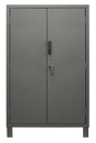 Durham 3703CX-BLP4S-95 Access Control Cabinets with Shelves - 48 x 24 x 78