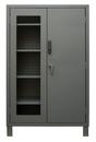Durham 3703CXC-BLP4S-95 Access Control Cabinets with Shelves - 48 x 24 x 78