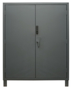 Durham 3704CX-BLP4S-95 Access Control Cabinets with Shelves - 60 x 24 x 78