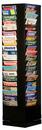 Durham 416-08 80 Pocket Rotary Durham Literature Rack (Black)