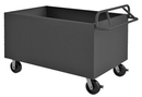 Durham 4STE-SM-2436-95 4 Sided Solid Box Truck with Ergonomic Handle