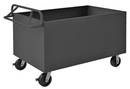 Durham 4STE-SM-2448-95 4 Sided Solid Box Truck with Ergonomic Handle