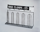 Durham 905-08-S702 Specialty Storage Products Hose Clamp Racks