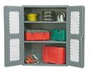Durham EMDC-362442-95 Clearview Shelf Cabinets, 36X24X42, 2 Shelves