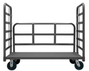 Durham EPT3RH24486PU95 3 Sided Platform Truck with 6