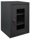 Durham HDCC202436-2S95 12 Gauge Clearview Cabinets with Lexan Doors, 20X24X36, 2 Shelves
