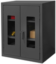 Durham HDCC203636-2S95 12 Gauge Clearview Cabinets with Lexan Doors, 20X36X36, 2 Shelves