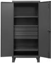 Durham HDCD243678-3M95 12 Gauge Cabinet with Drawers, 24X36X78, 3 Shelves