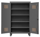 Durham HDCO246078-4S95 12 Gauge Storage Cabinet for Outdoor Use, 24X60X78, 4 Shelves