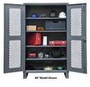 Durham HDCV246078-4S95 Ventilated 12 Gauge Cabinets, 24X60X78