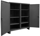 Durham HDDS247266-6S95 12 Gauge Double Shift Cabinets, 24X72X66, 6 Shelves