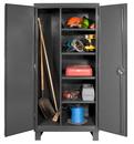 Durham HDJC244878-4S95 12 Gauge Maintenance Cabinets, 24X48X78, 4 Shelves