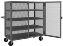 Durham HTL-2448-DD-4-95 Security Mesh Truck with 6