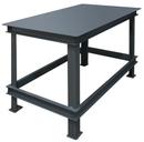 Durham HWBMT-364824-95 Extra Heavy Duty Machine Tables - Top shelf Only, 36X48X24