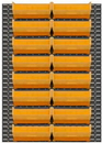 Durham LPW-46X64-95 Wall Mountable Louvered Panel (include 2 panels)