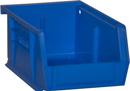Durham PB30210-52 Hook-On Bins, 4W X 5L X 3H, Blue