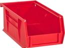 Durham PB30220-17 Hook-On Bins, 4W X 7L X 3H, Red