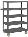 Durham RSC-2448-5-LD-95 Rolling Service Cart with 5