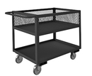 Durham RSC12-EX2436-2-5PO-95 Rolling Service Cart with 12