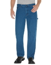 Dickies 19294 Relaxed Fit Stonewashed Carpenter Denim Jeans
