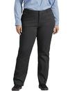 Dickies FPW41 Women's Plus Size Perfect Shape Straight Leg Twill Pants