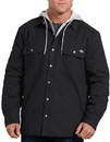 Dickies TJ203 Relaxed Fit Icon Hooded Duck Quilted Shirt Jacket