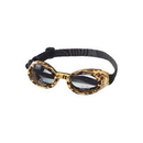 Doggles DGILLG-37 Doggles - ILS Large Leopard / Smoke Lens