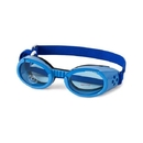 Doggles Doggles - Ils Small Shiny Blue Frame / Blue Lens