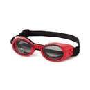 Doggles - Ils Extra Small Shiny Red Frame / Smoke Lens
