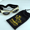 Doggles - Originalz Large Chrome Frame / Smoke Lens