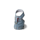 Doggles Harness Vest - Denim Small Harness Blue Jean Jacket