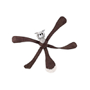 Doggles Toy - Pentapulls Raccoon