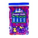 Doggie Walk Bags B-002 Classic Bag Blue - Baby Powder - 35 Capsules