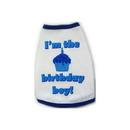 I See Spot Tank - Birthday Boy - White - Small