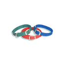 "Mendota Dbl-Collar Junior Collar 9/16"" W Up To 12"" - Teal"