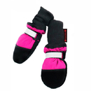 Muttluks FLIBPI Fleece Lined Muttluks Dog Boots Set of 4 - Pink, Itty Bitty up to 1.5