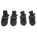 Muttluks Woof Walkers Dog Boots Set of Four - Black, X Small 2.25