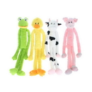 Multi Pet 22428 Swingin' Slevins Large Plush Toy w/ Long Arms and Legs - Cow 30