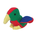 Multipet Look Who'S Talking (Plush Talking Animals) - Parrot