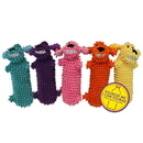 Multi Pet 47864 Loofa Floppy Water Bottle Buddies - 11' assorted colors