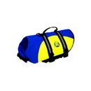Paws Aboard WBY1200 Neoprene Doggy Life Jacket - Blue/Yellow - XS