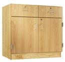Diversified Woodcrafts 106-3622 2 Door/2 Drawer 36W x 22D