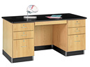 Diversified Woodcrafts 1131K Desk, Teacher, 60 x 30 x 30