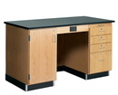 Diversified Woodcrafts 1216KF-L 5' Instructor'S Desk W/ Flat Top, 60Wx30Dx36H