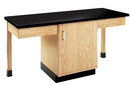 Diversified Woodcrafts 2102K 2 Station Table W/1-1/4