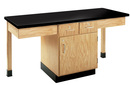 Diversified Woodcrafts 2202K 2 Station Table W/ 1-1/4