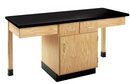 Diversified Woodcrafts 2206K 2 Station Table W/ 1