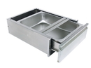 Diversified Woodcrafts 250487 Drawer for Stainless Steel Tables