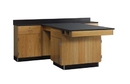 Diversified Woodcrafts 2826KF Perimeter Workstation W/ Door And Drawer W/ Flat Top